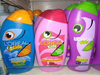 [3+1] L'OREAL kids shampoo/Conditioner (265mL)