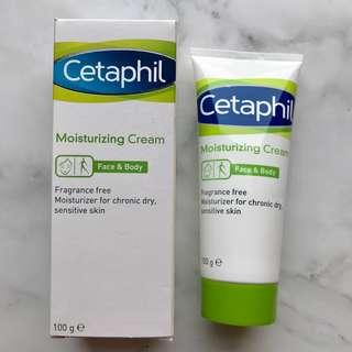 [Cetaphil] Moisturizing Cream 100g