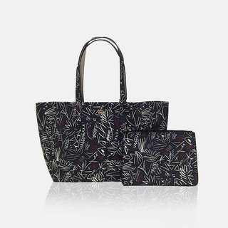 Lacoste Reversible Tote withh wristlet