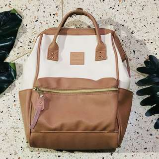 Anello Faux Leather Mini Backpack
