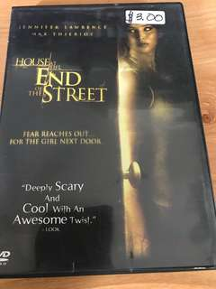 The House at the end of the Street movie DVD