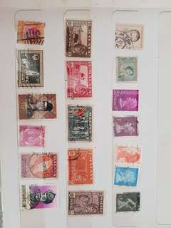 Old Malaya Stamps