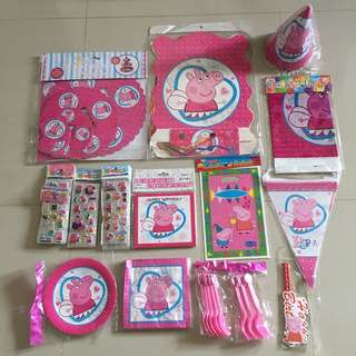 Peppa Party Supply