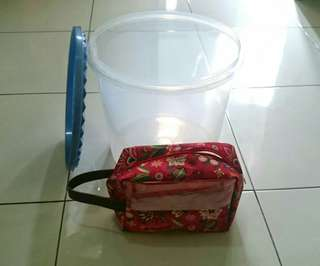 Toples Besar 16 L & Pouch