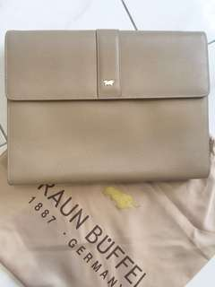 Braun Buffel Clutch Bag