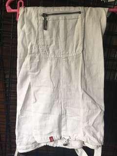Esprit linen white pants