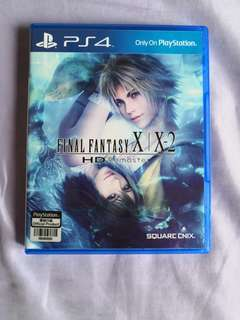*Mint Condition* PS4 Final Fantasy X and X-2 HD Remastered