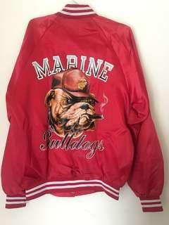 Cardinal Vintage Varsity Jacket