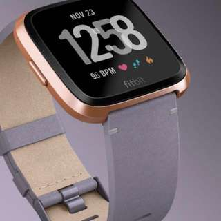 Fitbit 錶帶 Accessories Leather Band