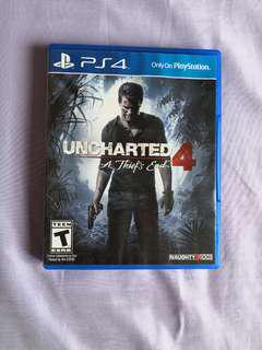 *Mint Condition* PS4 Uncharted 4 (A thief's end)