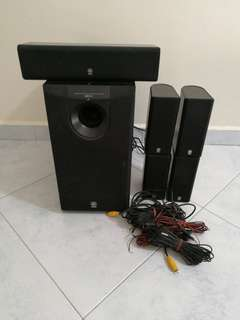 Yamaha 5.1 HT Speakers