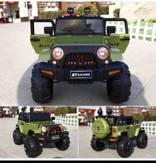 Instock Jeep Kids Electric Car