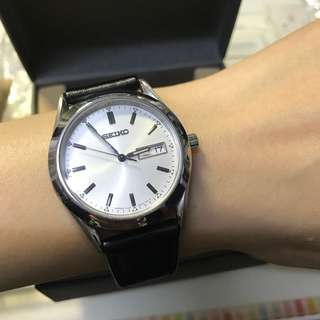 超筍割愛💗日本版文青復古款Seiko皮帶手錶