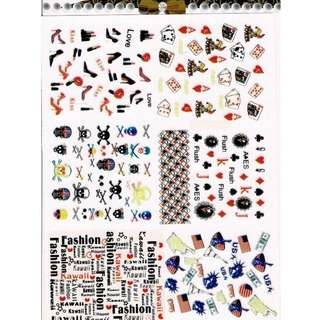 Nails Stickers - NS005