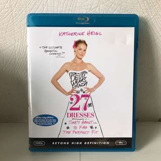 🚚 Blue Ray Disc - 27 Dresses