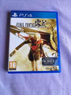 *Mint Condition* PS4 Final Fantasy Type 0