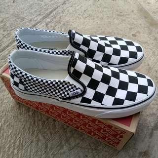 Vans Slip On Mix Checker Checkerboard Original