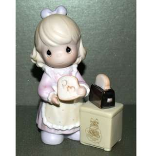 Precious Moments 1997 Club Membership Figurine 5 Inches Tall