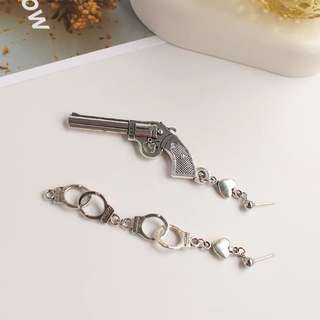 可愛特色耳環/夾耳環