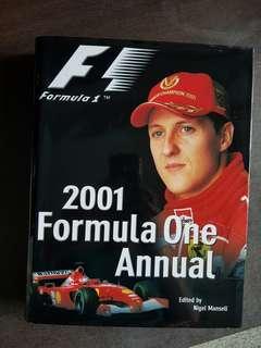 2001 Formula One Annual Magazine