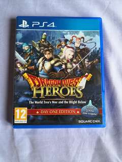 *Mint Condition* PS4 Dragon Quest Heroes - Day One Edition