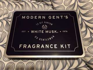 Modern Gent's White Musk Fragrance Kit