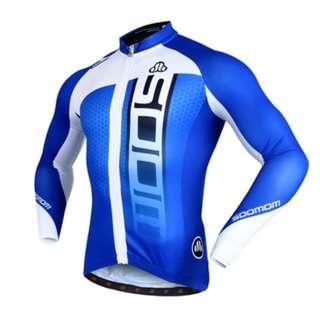 Soomom Men's Long Sleeve Cycling Jersey SM51