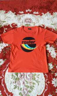 Tshirt RED RASTER RAINBOW