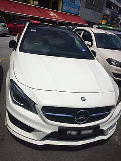 CLA200 Car Rental
