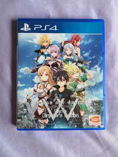 *Mint Condition* PS4 Sword Art Online - Game director's edition