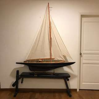 Display Sailing Boat