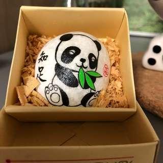 Painted Rock - Panda