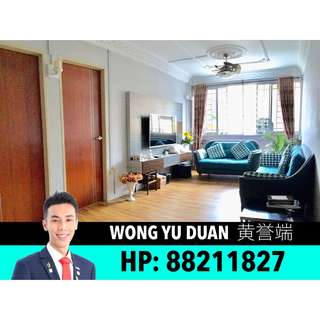 855 YISHUN RING ROAD HDB 4A FOR SALE!