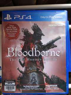 Ps4 Game Bloodborne the old hunters edition