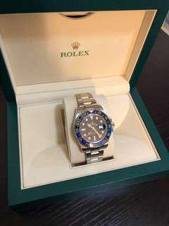 Rolex 116710 BLNR 藍黑