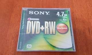BN Sony DVD+RW 4.7GB 120 mins
