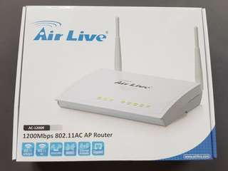 Air Live wireless router 1200Mbps