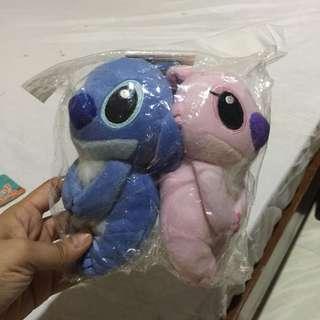 Stitch & Angel Stuffed Toys
