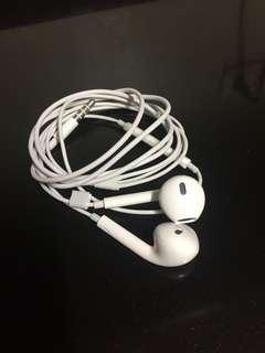 Apple earphone.