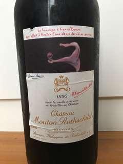 Château Mouton Rothschild 1990 5L
