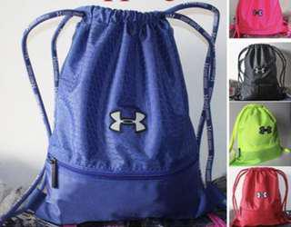 🚚 CHEAPEST Under Armour Drawstring Bag + FREE gifts