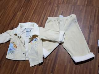 Suade Baby Jacket and Pants