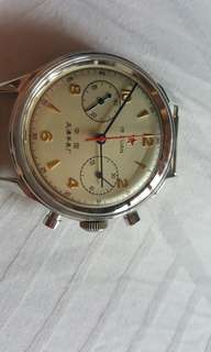 Chinese NOS 1963 MIG chronograph pilot's watch