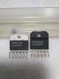 LM3875T and LM3886TF