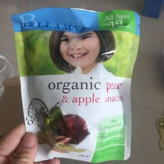 bellamy pear and apple snacks