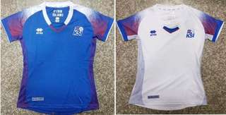 2018 Iceland female kits