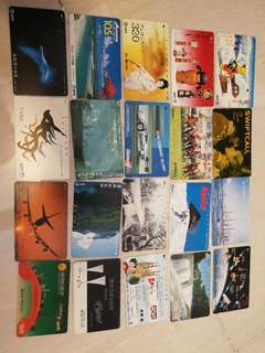 Japan telephone card collection
