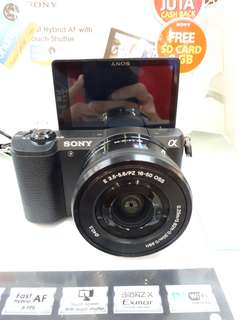 Kamera Sony Alpha 5100 MURAH (Kredit Dp 0%)