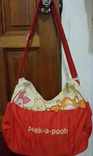 Authentic disney pooh bag