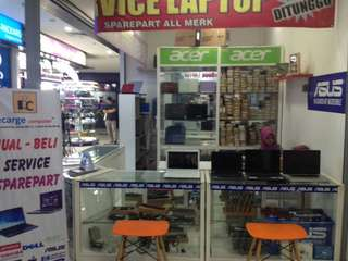 Recarge computer shop service